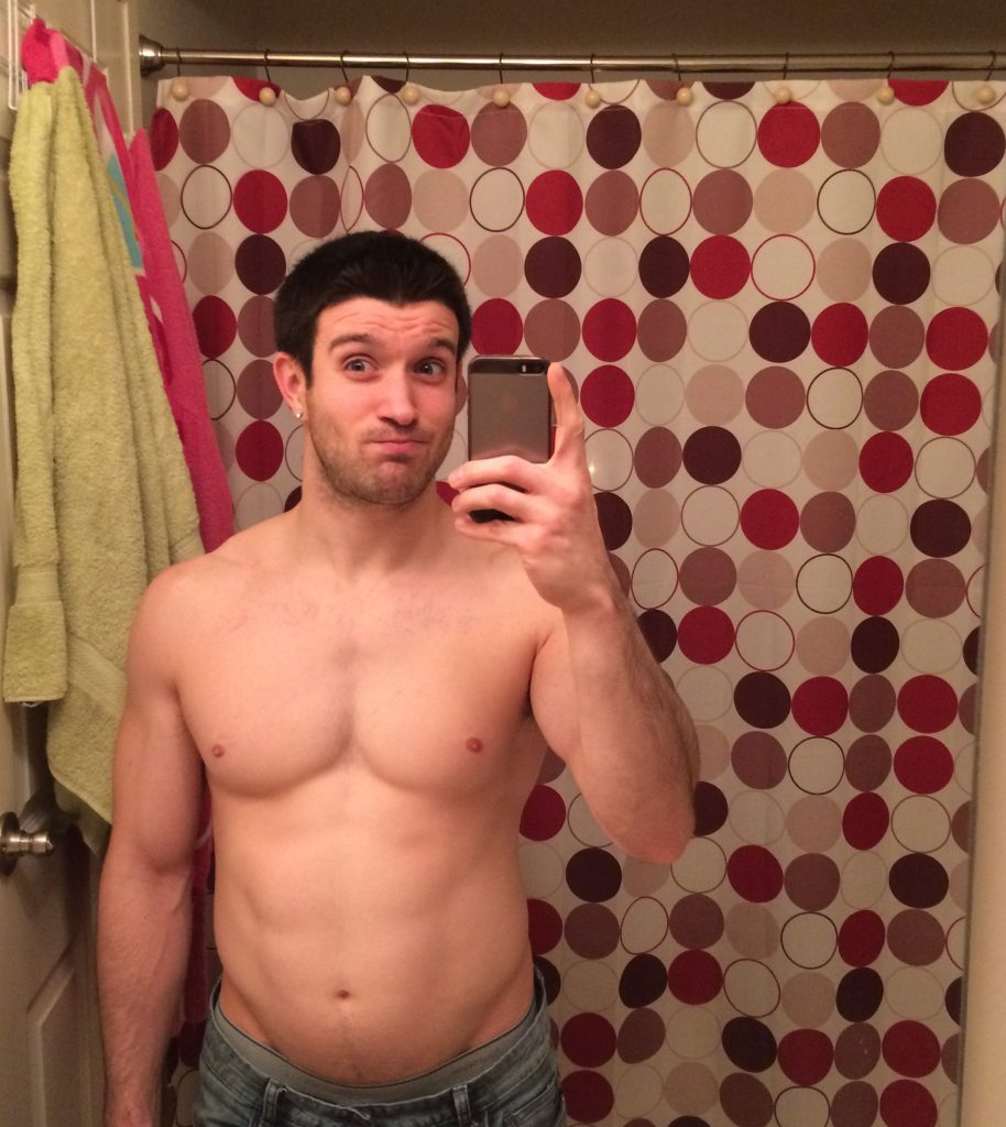 Matt April - February 2015 - 156lbs 16% body fat Becoming Better Starts With Your diet