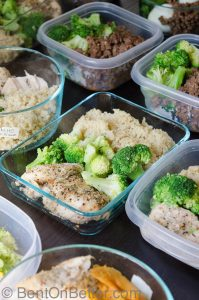 Bent On Better - Meal Prep week