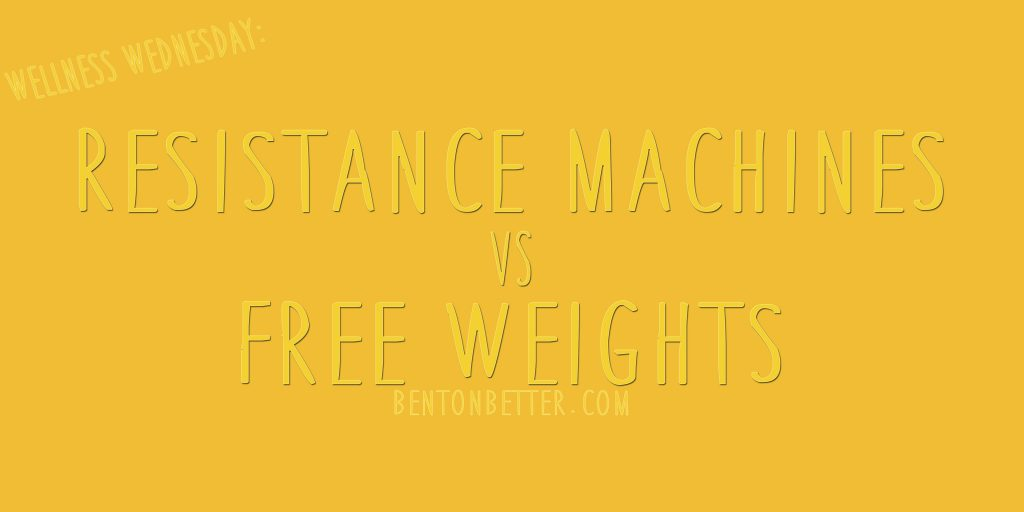 Resistance Machines vs Free Weights - Bent On Better Training on resistance machines versus training on free weights