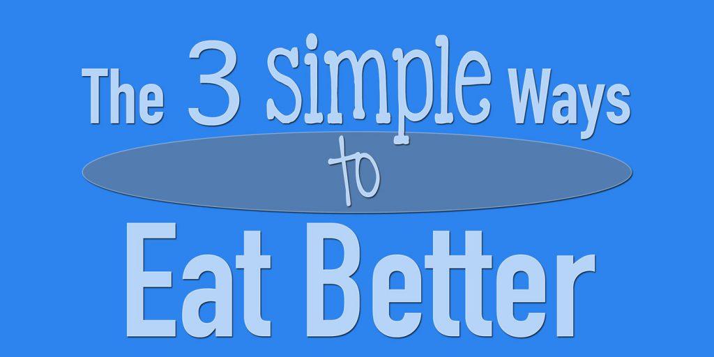 The Simple Ways to Eat Better - Bent On Better BentOnBetter - Matt April - Healthy meals, grocery shopping, health