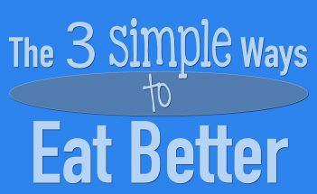 The Simple Ways to Eat Better - Bent On Better BentOnBetter - Matt April - Healthy meals, grocery shopping, health
