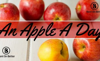 An Apple A Day - Cover Art - Bent On Better - Apples