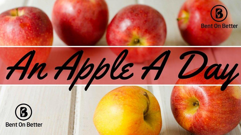 An Apple A Day - Cover Art - Bent On Better - Apples