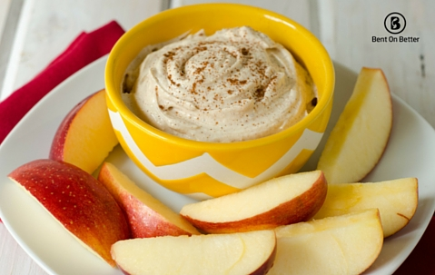 An Apple A Day - Nut Butter Dip - Bent On Better - Apples