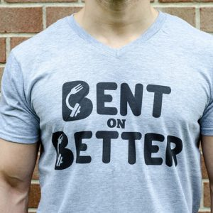Bent On Better - Shirt - gray