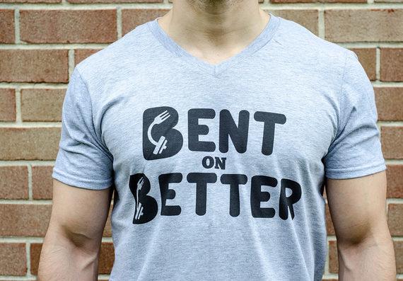 Bent On Better - Shirt - gray