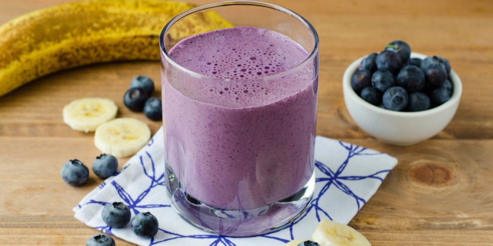 Blueberry Smoothie - Bent On Better