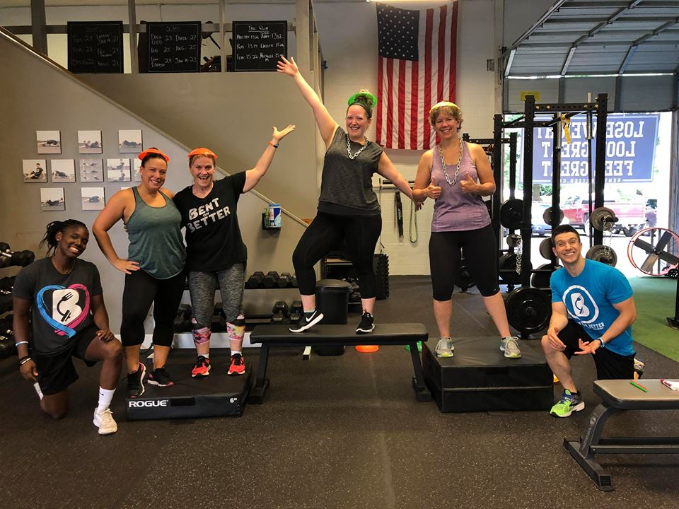 Bent On Better group personal training west chester pa