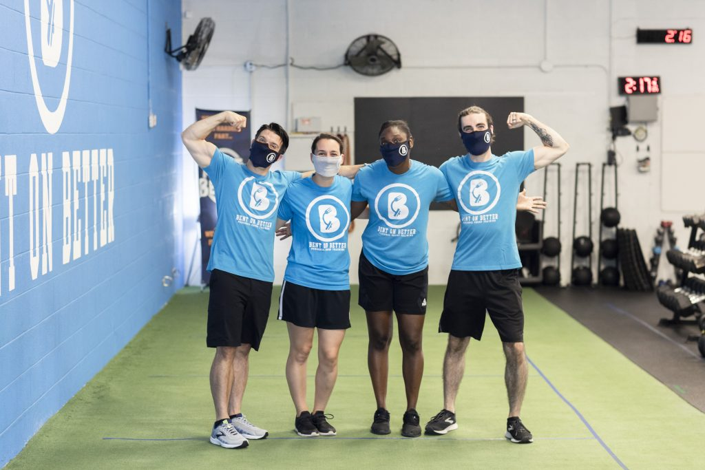 gyms in west chester- Bent On Better - personal trainers- all