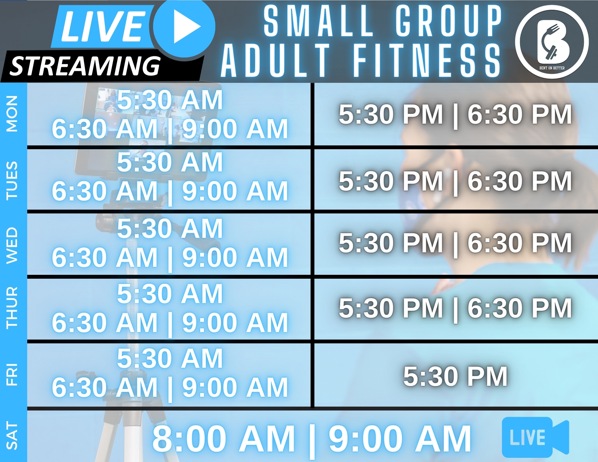 Live Streaming Virtual Adult Schedule Bent On Better