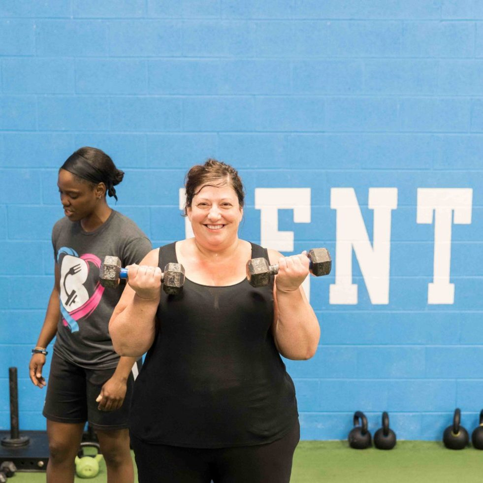 Kathy cropped_ Toning Workouts for women in west chester pa gym