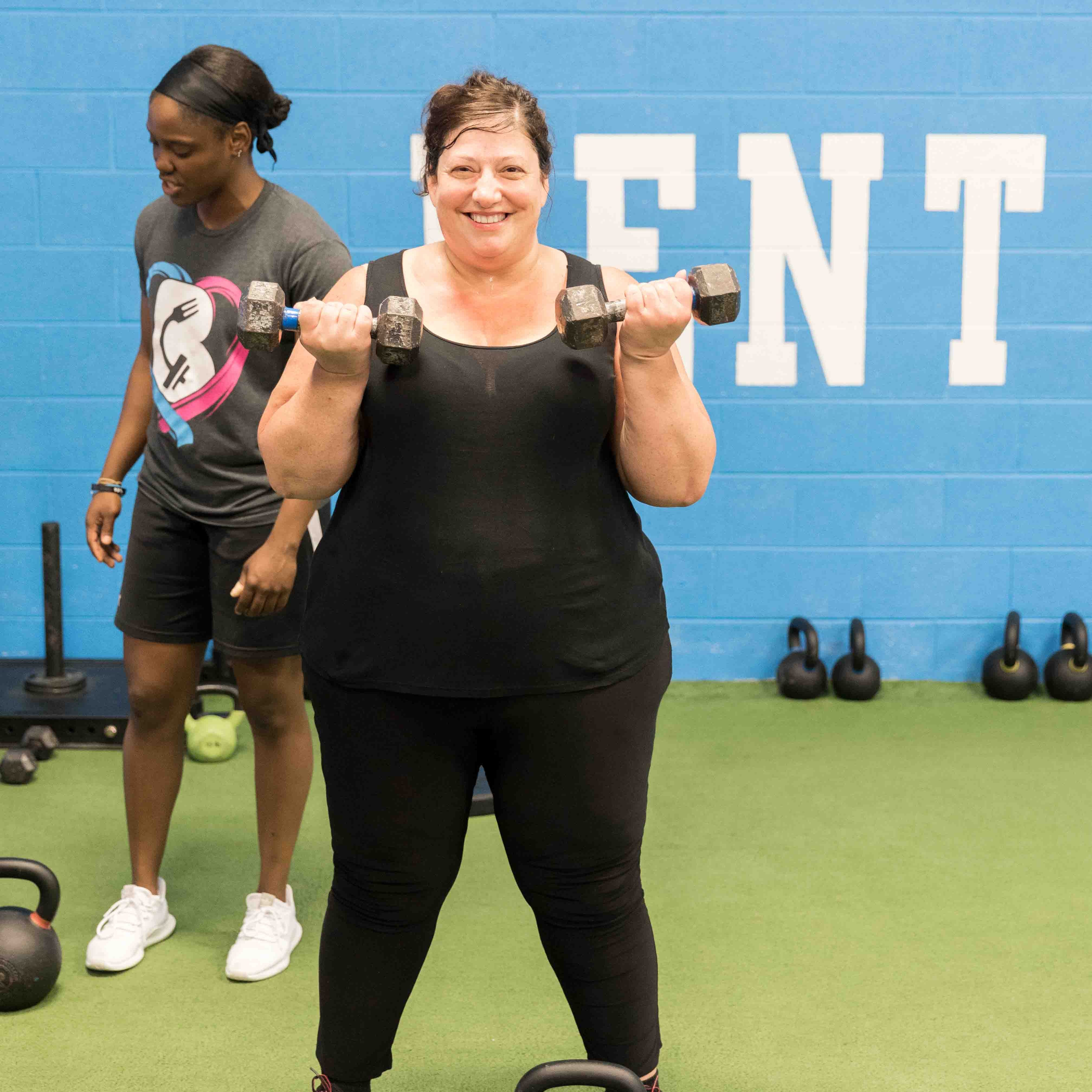 Toning Workouts for women in west chester pa gym